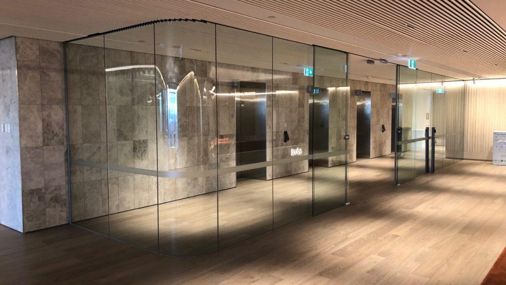 Australian Curved Glass - Foyer
