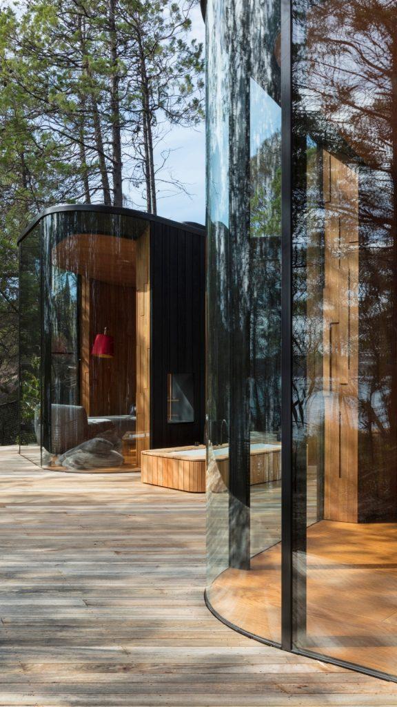 Australian Curved Glass - Freycinet Lodge 2
