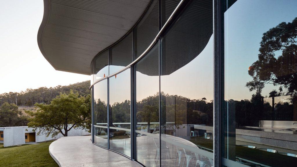 Australian Curved Glass - Medhurst Winery 3