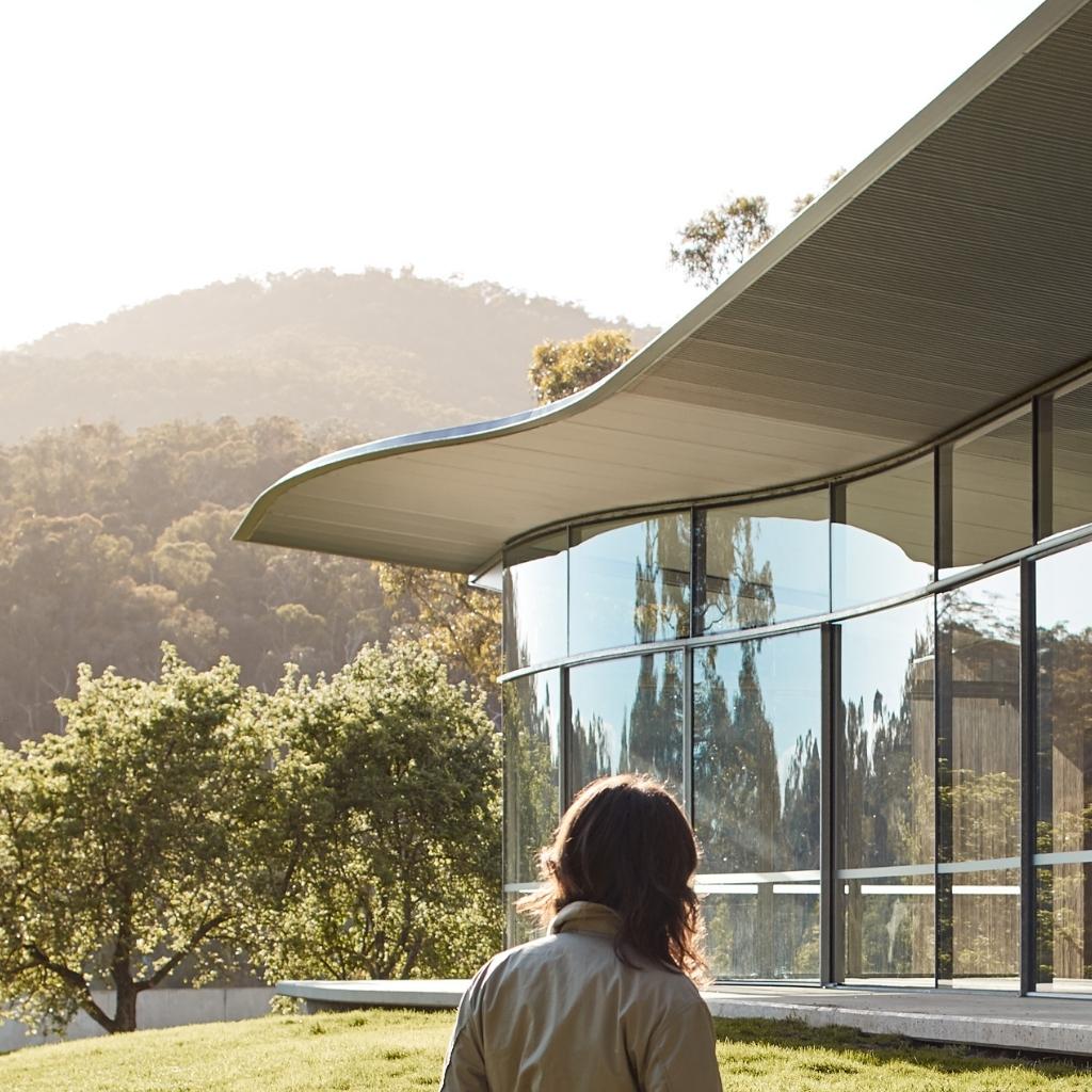 Australian Curved Glass Medhurst Winery