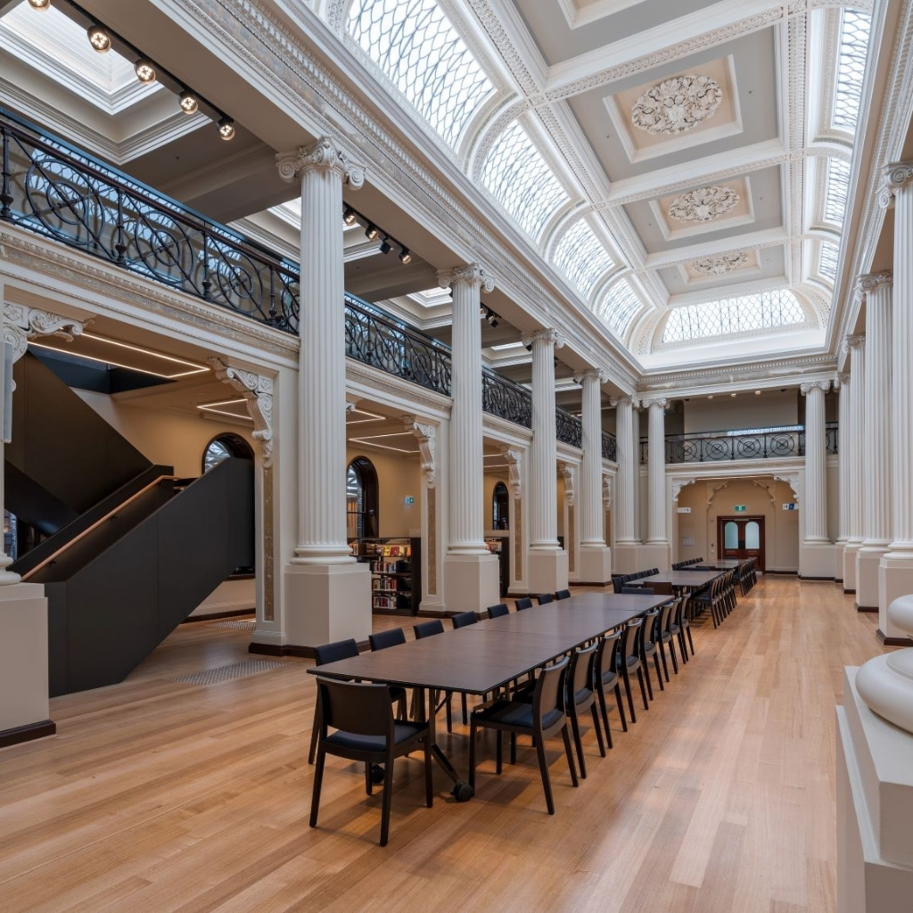 Australian Curved Glass - Victorian State Library 1