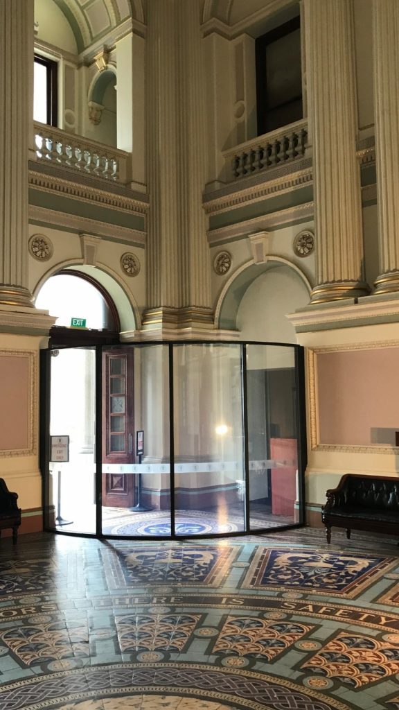 Australian Curved Glass - Victorian State Parliament
